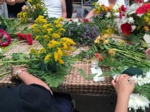 חוויה בפרחים