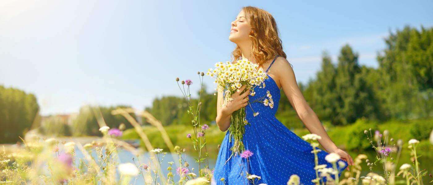 -בפרחים