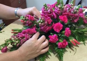 קורס שזירת פרחים והעצמה